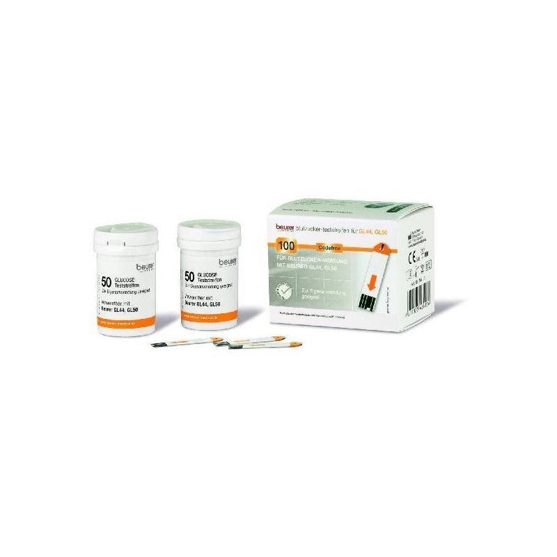 Beurer Teststrips voor Glucosemeter GL44/GL50