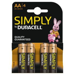 Duracell batterijen alkaline (4 stuks)