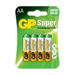 GP Super AA Batterijen alkaline 4 stuks