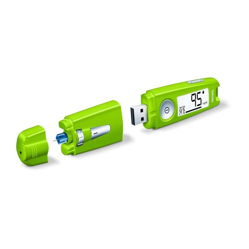 Glucosemeter Beurer GL50 Green mmol/l