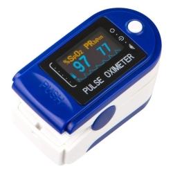 Saturatiemeter Contec CMS50D blauw