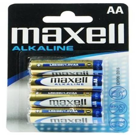 Maxell AA batterijen alkaline (4 stuks)